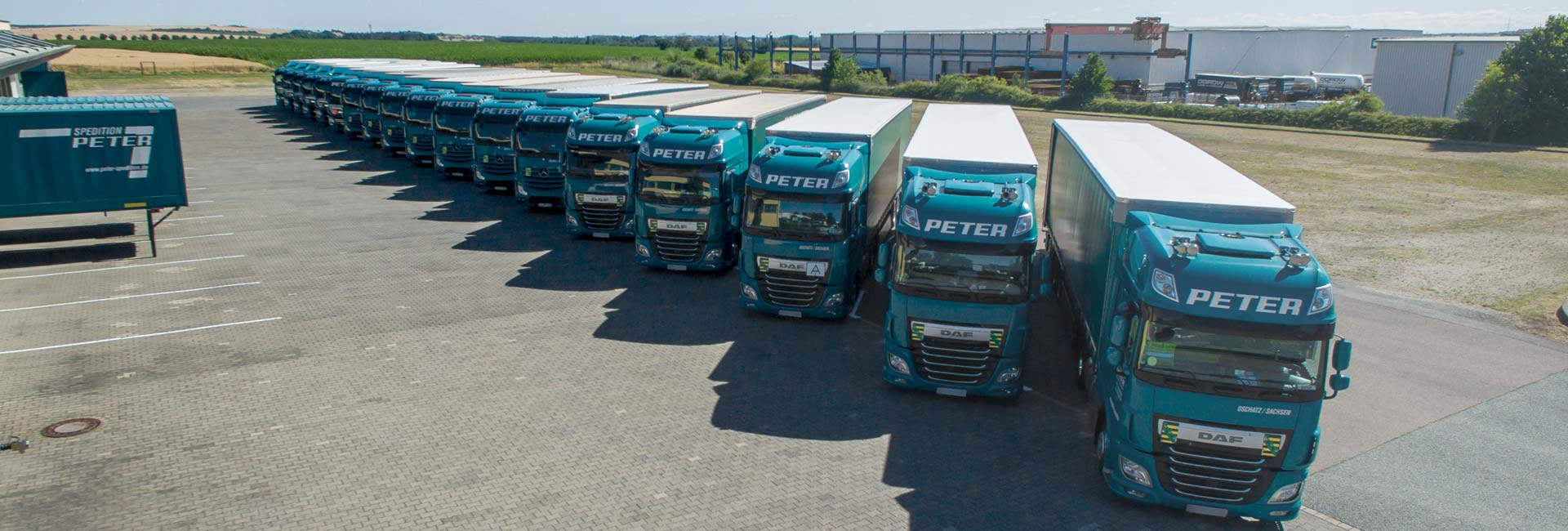 LKW Parade Spedition Peter